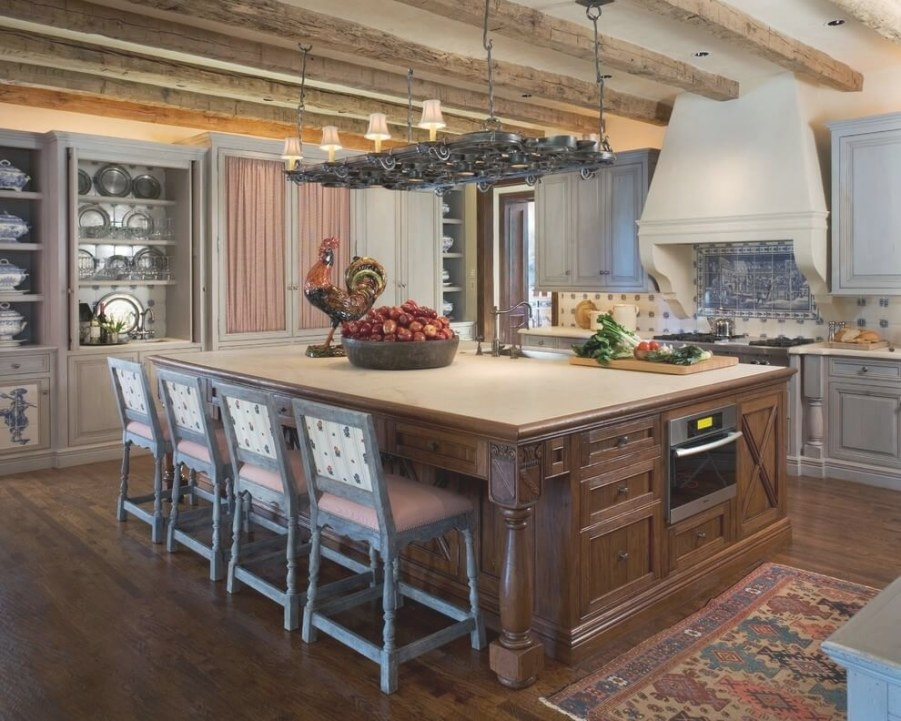 124+ Great Kitchen Design And Ideas With Cabinets, Islands for Kitchen Island With Stove