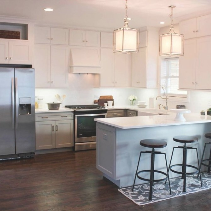 15 Great Design Ideas For Your Kitchen | Kitchen Layout U for Small U Shaped Kitchen