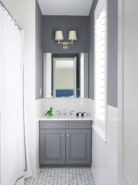 17 Beautiful Gray And White Bathroom Designs Ideas | Home throughout Grey And White Bathroom