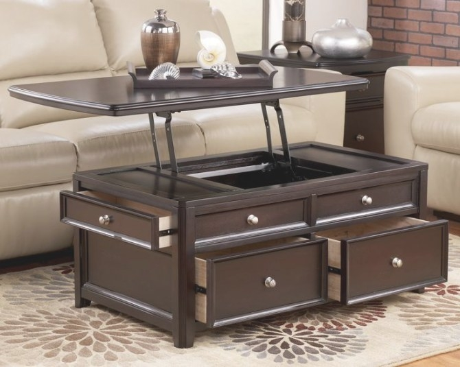 17 Best Coffee Tables Images On Pinterest | Lift Top regarding Lift Top Coffee Tables