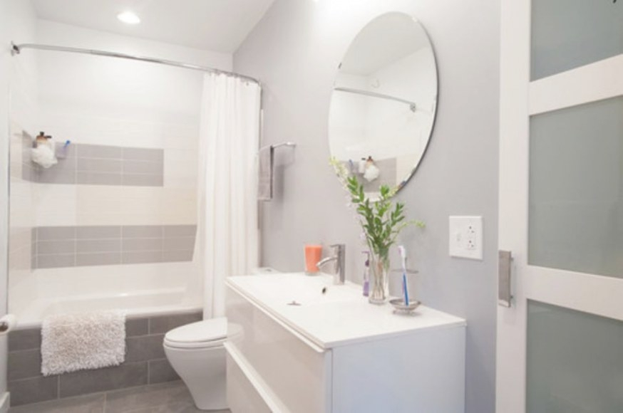 17 Classic Gray And White Bathrooms in Grey And White Bathroom