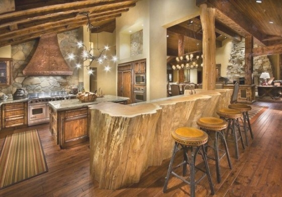 20 Beautiful Rustic Kitchen Designs inside Rustic Kitchen Ideas For Small Kitchens