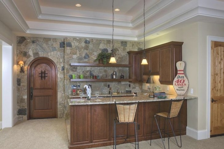 25 Amazing Stone Accent Walls - Page 4 Of 5 regarding Accent Walls In Kitchens