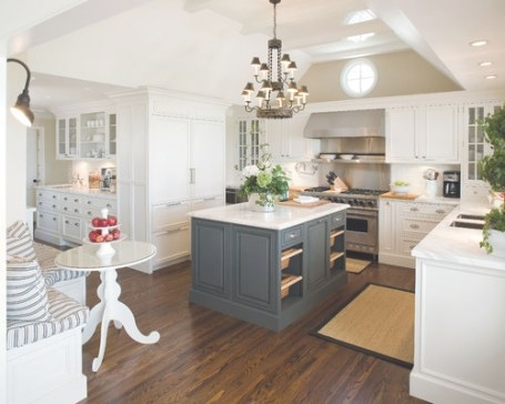 25 Glamorous Gray Kitchens with Teal And Gray Kitchen