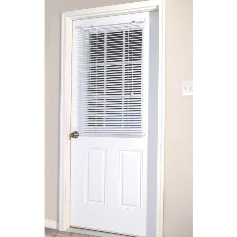 26 Good And Useful Ideas For Front Door Blinds - Interior throughout Windows With Blinds Inside