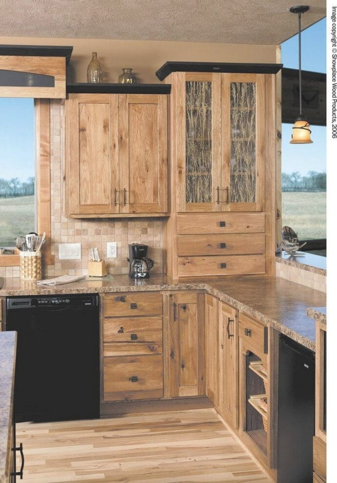 27 Rustic Kitchen Cabinet Makeover Ideas throughout Rustic Kitchen Ideas For Small Kitchens
