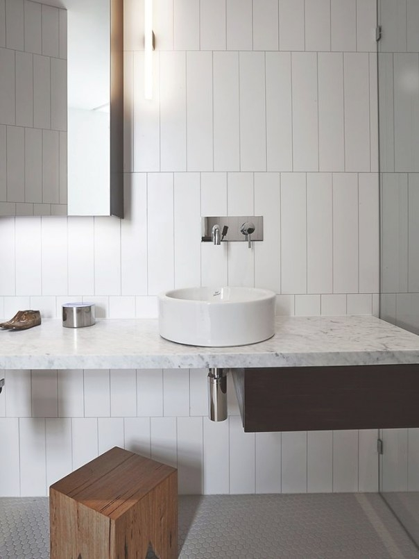 37 White Rectangular Bathroom Tiles Ideas And Pictures pertaining to Small White Tiles For Bathrooms