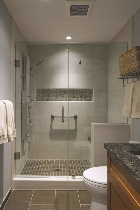 40 Beige And Brown Bathroom Tiles Ideas And Pictures in Brown And Beige Pinwheel Mosaic Tile Bathroom
