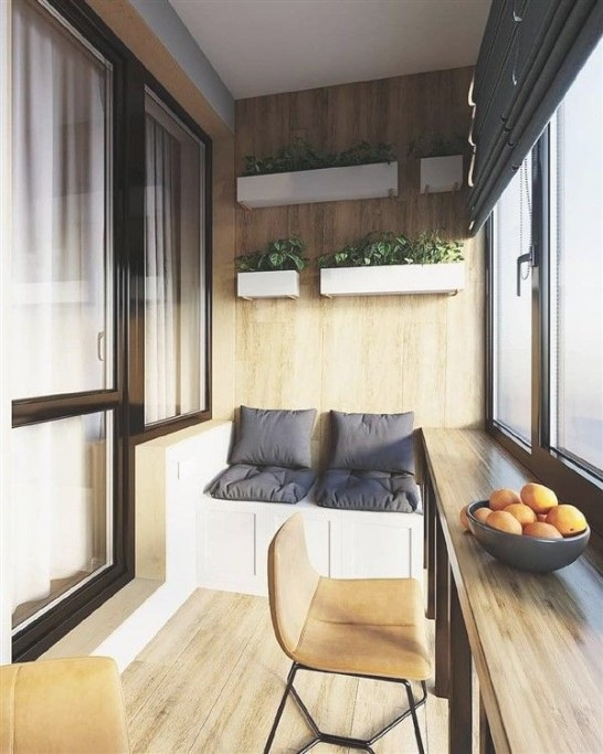 47 Turning Small Balcony Into Home Office Ideas In 2020 inside Turning Living Room Into Bedroom