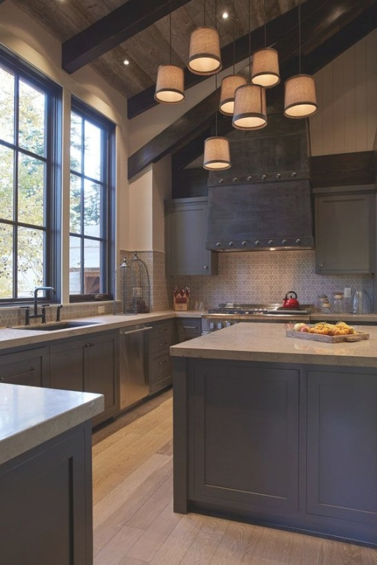 53 Sensationally Rustic Kitchens In Mountain Homes in Rustic Kitchen Ideas For Small Kitchens