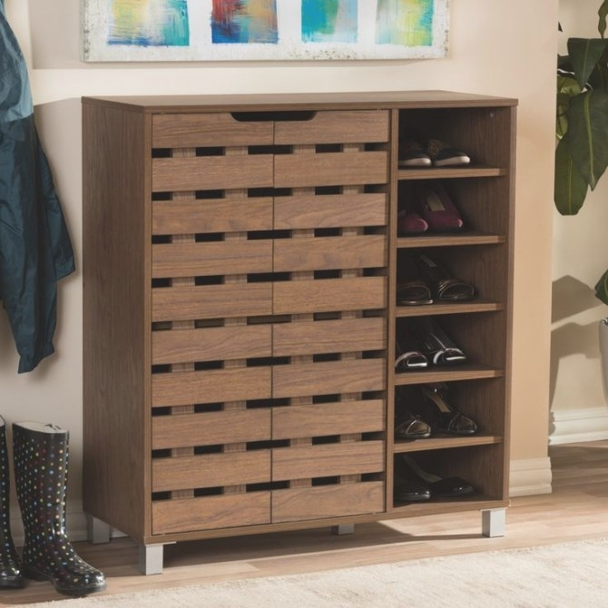 55 Best Shoe Cabinets Images On Pinterest | Dark Brown for Shoe Cabinet With Doors
