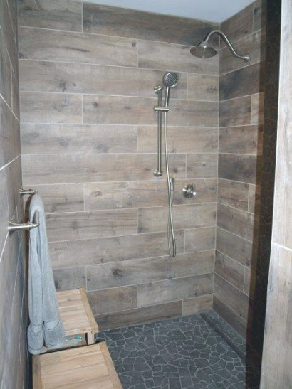 70 Bathroom Shower Tile Ideas - Luxury Interior Designs intended for Wood Look Tile In Bathroom