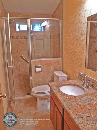(800) 935-5524 Mobile Home Hall Bathroom Remodel | (800 with regard to How To Remodel Bathrooms