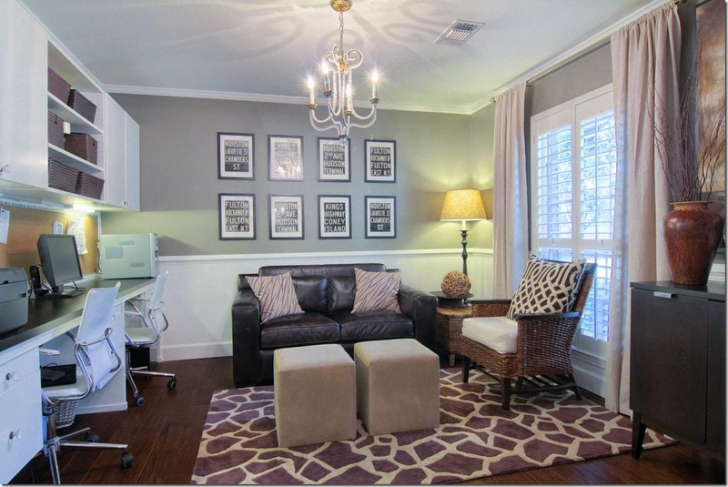 A Great Way To Turn A Typical Formal Dining Room (In The throughout Turning Living Room Into Bedroom
