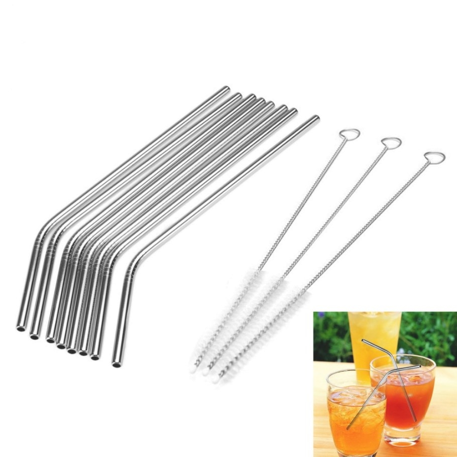 Aliexpress : Buy 1 8Pcs Reusable Drinking Metal Straw pertaining to Where To Buy Straw