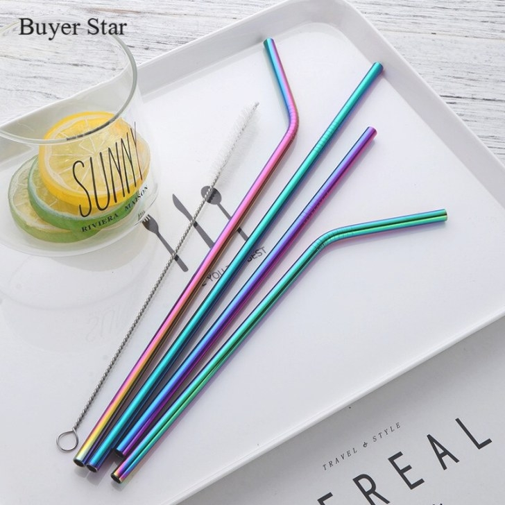 Aliexpress : Buy 8Pcs Colorful Drinking Straw Reusable pertaining to Where To Buy Straw