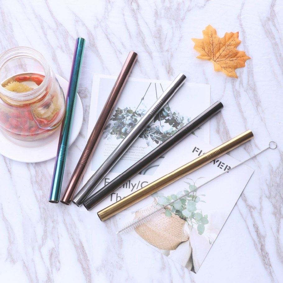 Aliexpress : Buy Extra Wide Long Straw Reusable 304 with regard to Where To Buy Straw