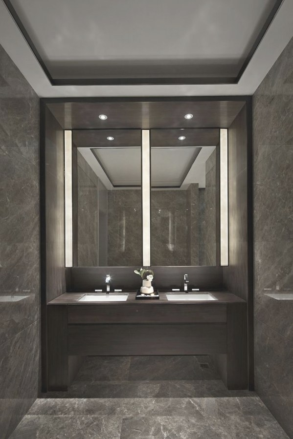 Always Wondered How You Changed The Light Globes For Those for Modern Lighted Mirrors For Bathrooms