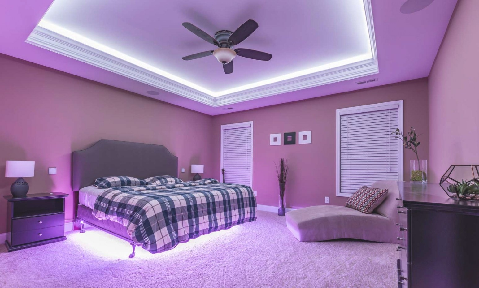 Ambient Lighting: Utilize Led Lights To Set The Mood Of pertaining to How To Design Your Bedroom