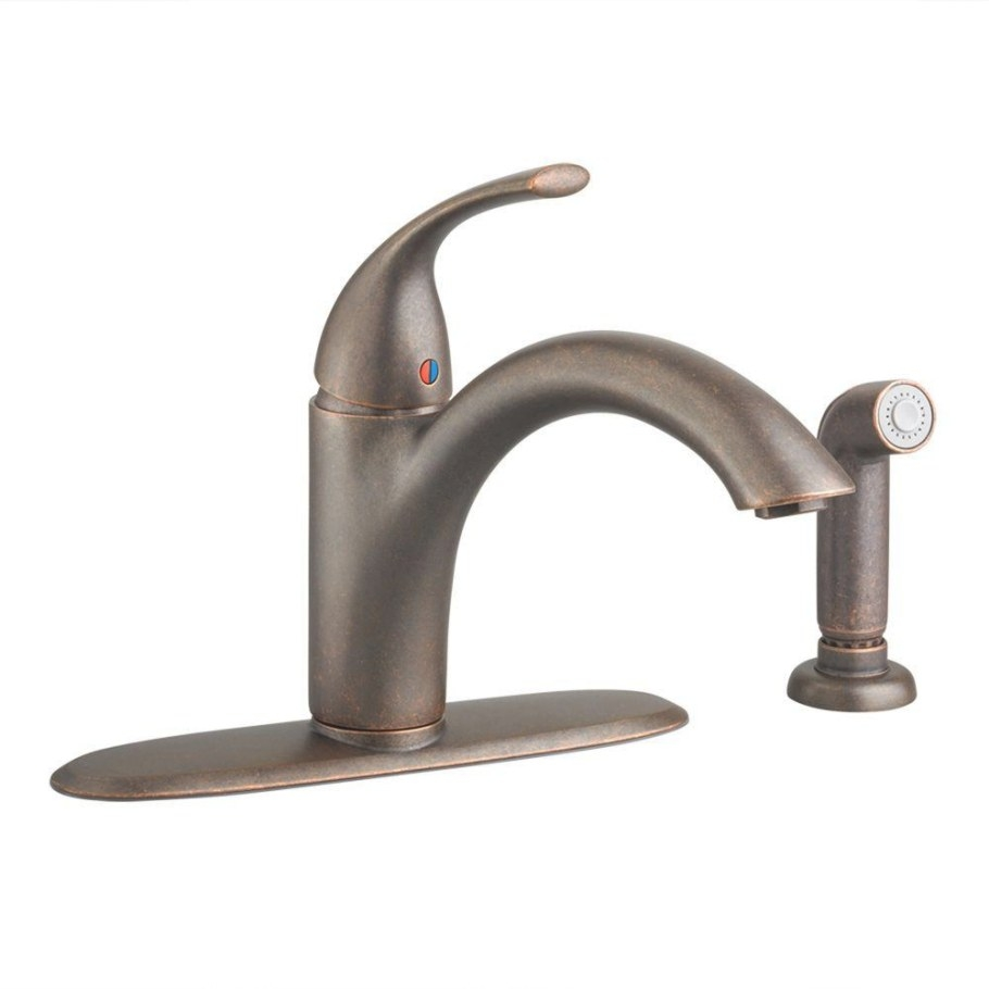 American Standard Quince Single-Handle Standard Kitchen in Oil Rubbed Bronze Kitchen Faucet