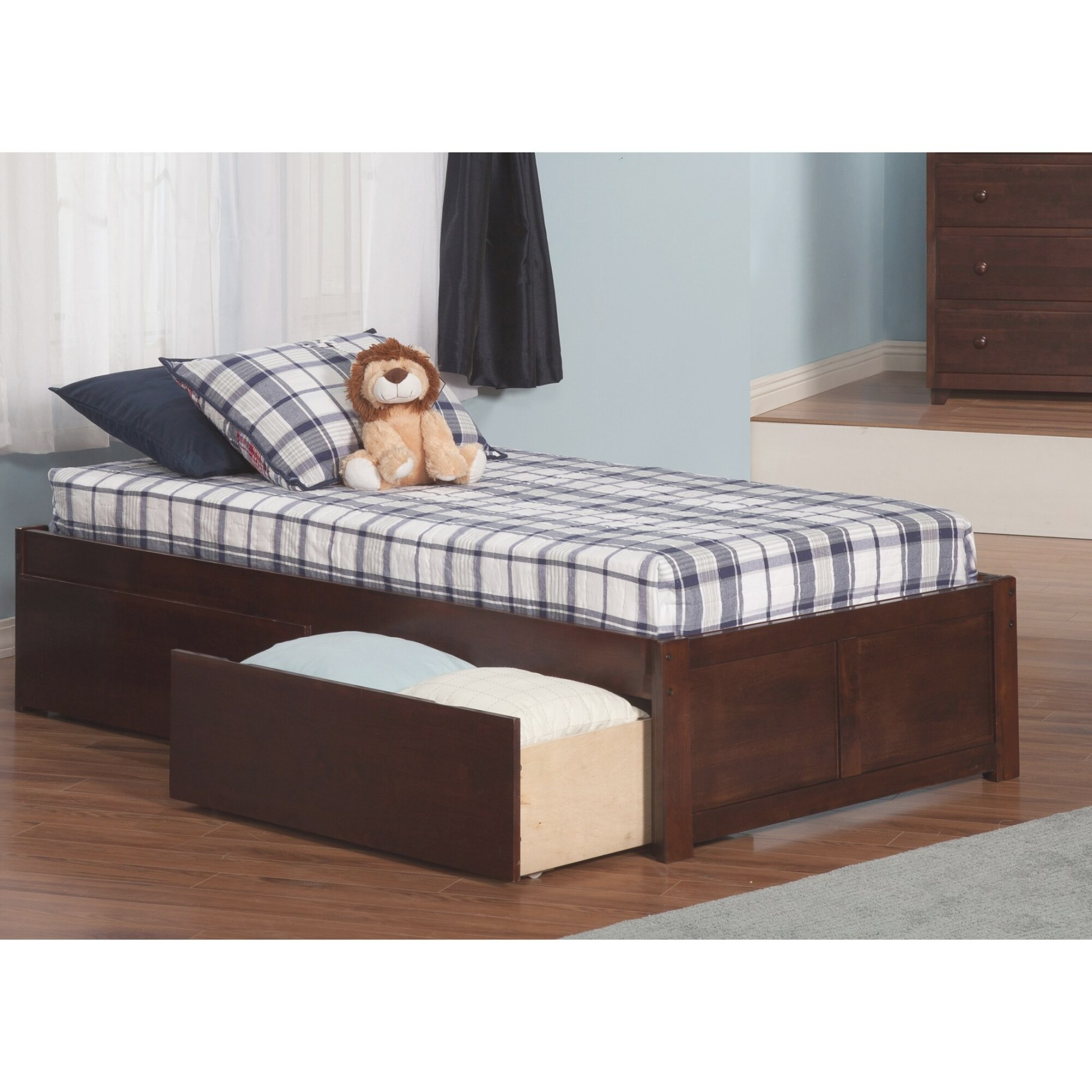 Andover Mills Mackenzie Extra Long Twin Platform Bed With throughout Twin Xl Platform Bed