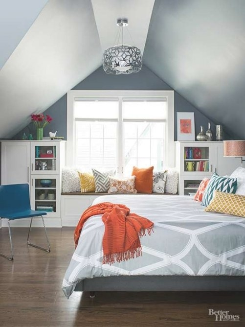 Attic Bedroom – How To Decorate Attic Bedrooms | Decorated within How To Design Your Bedroom
