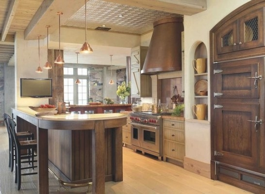 Basic Elements In Farmhouse Design – How To Recognize The with Rustic Kitchen Ideas For Small Kitchens