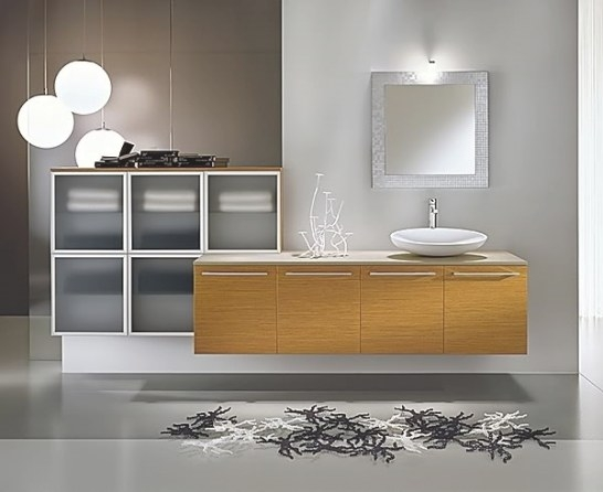 Bathroom Light Fixtures - 25 Contemporary Wall And Ceiling intended for Modern Lighted Mirrors For Bathrooms