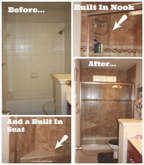 Bathroom Remodel Tub To Shower Project - Isavea2Z in How To Remodel Bathrooms