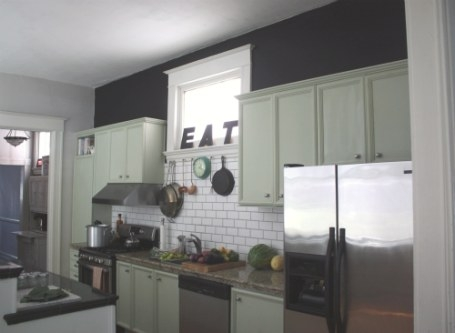 Beef Or Pork? Chalking Up The Kitchen Walls | 17 Apart inside Accent Walls In Kitchens