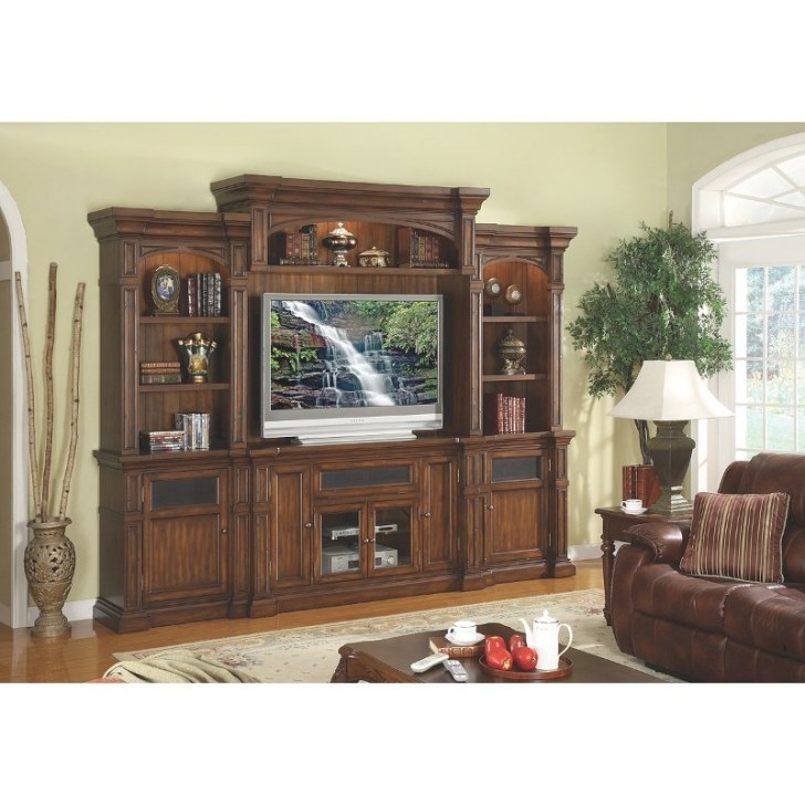 Berkshire 4-Piece Entertainment Wall Unit with regard to Entertainment Center Wall Unit