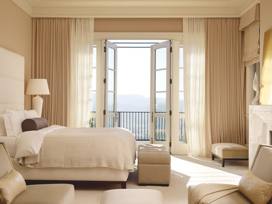 Best Curtain Ideas For Bedroom With Modern Style #682 throughout Curtain Designs For Bedroom