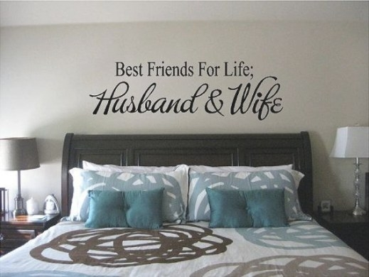 Best Friends For Life Husband And Wife Decal - Husband And regarding Husband And Wife In Bedroom