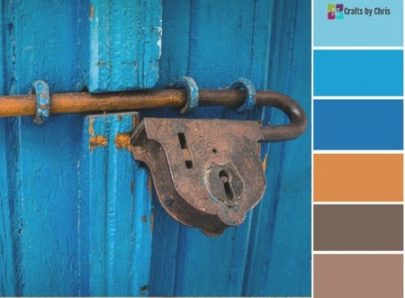 Blog – Craftschris with Blue And Brown Color Palette