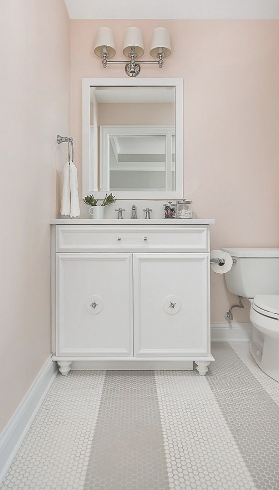 Blush Pink Paint Color: Benjamin Moore 1184 Pensacola Pink intended for Eggshell Paint For Bathroom
