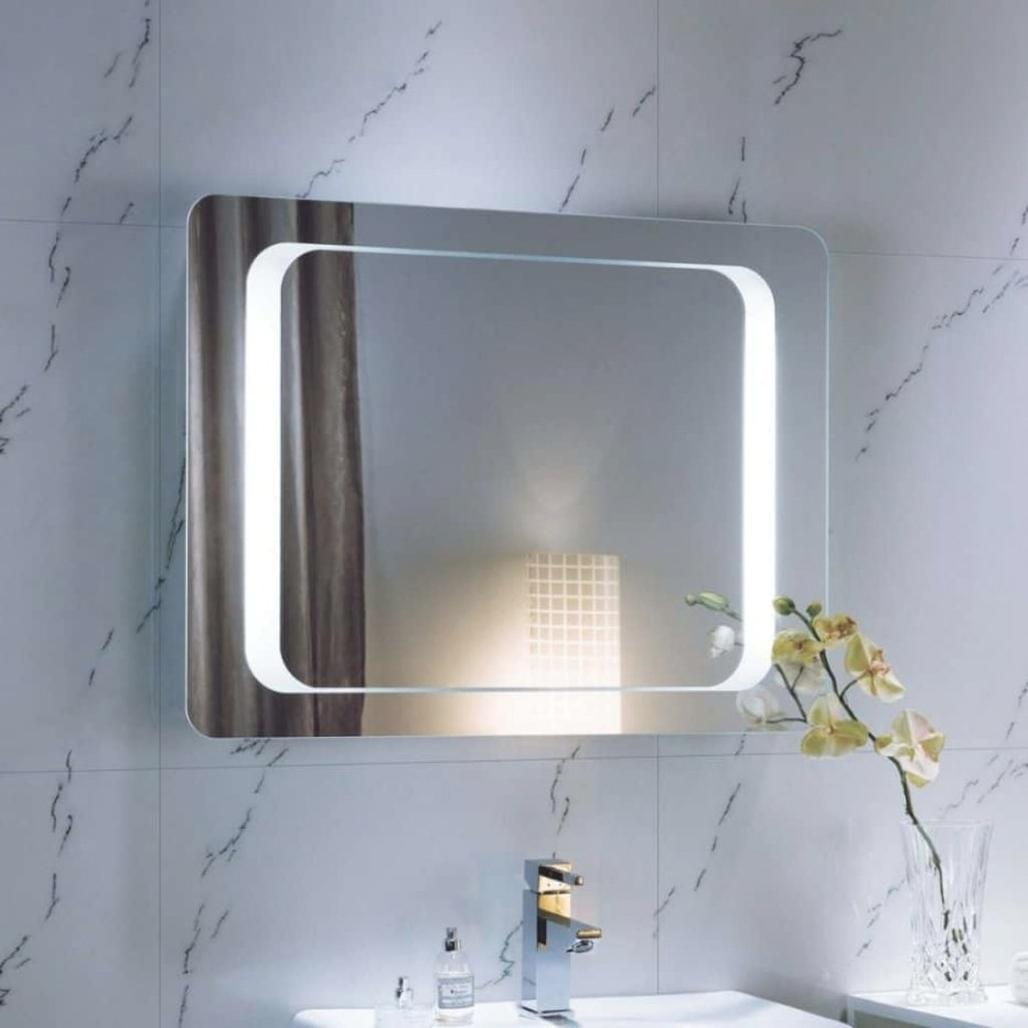 Buying Tips For Bathroom Mirrors | Wearefound Home Design regarding Modern Lighted Mirrors For Bathrooms