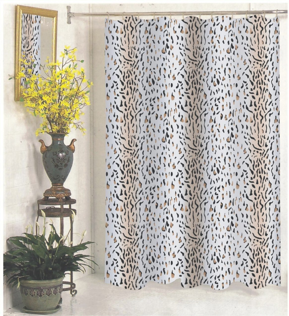 Carnation Home Fashions, Inc - Extra Wide Fabric Shower pertaining to 84 Inch Shower Curtain