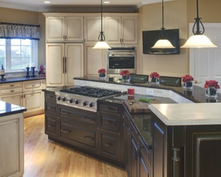 Center Island With Stove Home Design Ideas, Pictures for Kitchen Island With Stove