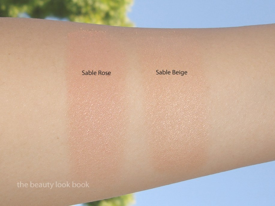 Chanel Sable Beige And Sable Rose Soleil Tan De Chanel in What Color Is Sable