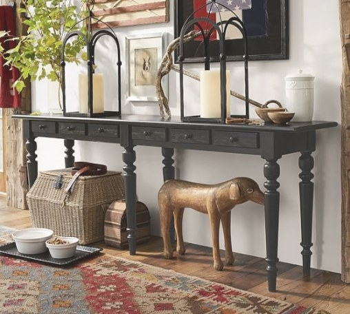 Choose Smart, Choose Comfort! | Large Console Table, Extra in Extra Long Console Table