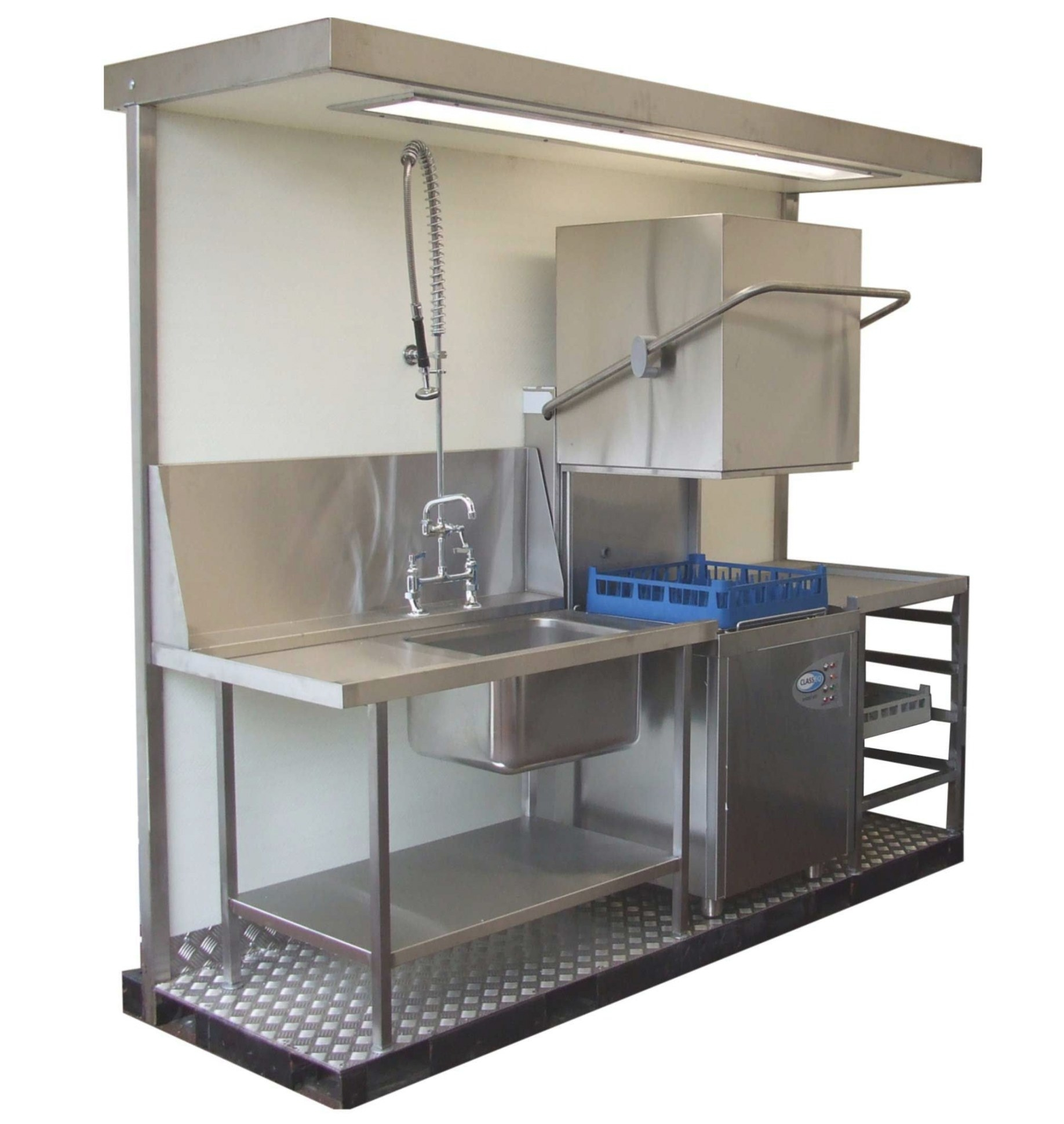 Commercial Dishwashing Layout - Google Search | Modern with Industrial Dishwasher For Home