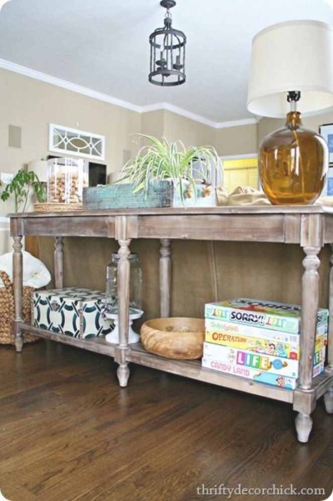 Cool Extra Long Sofa Table – Homesfeed intended for Extra Long Console Table