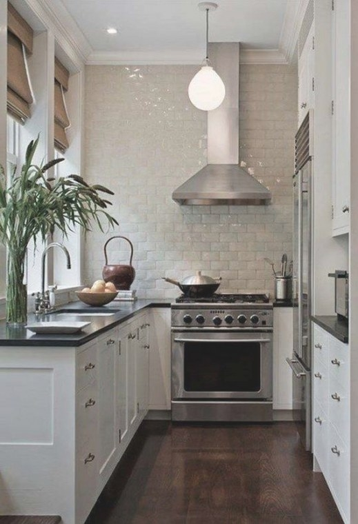 Cool Kitchen Designs For Small Spaces for Small U Shaped Kitchen