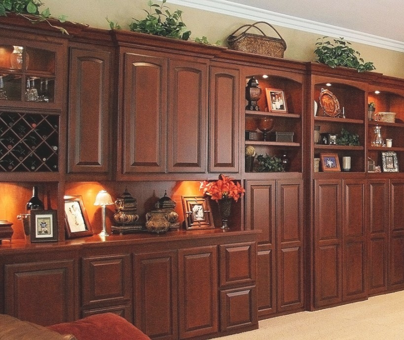 Custom Wall Units / Entertainment Centers In Orange County for Entertainment Center Wall Unit