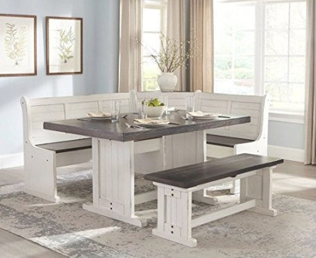 Cute Dining Booth Sets For Your Home! within Restaurant Booths For Home