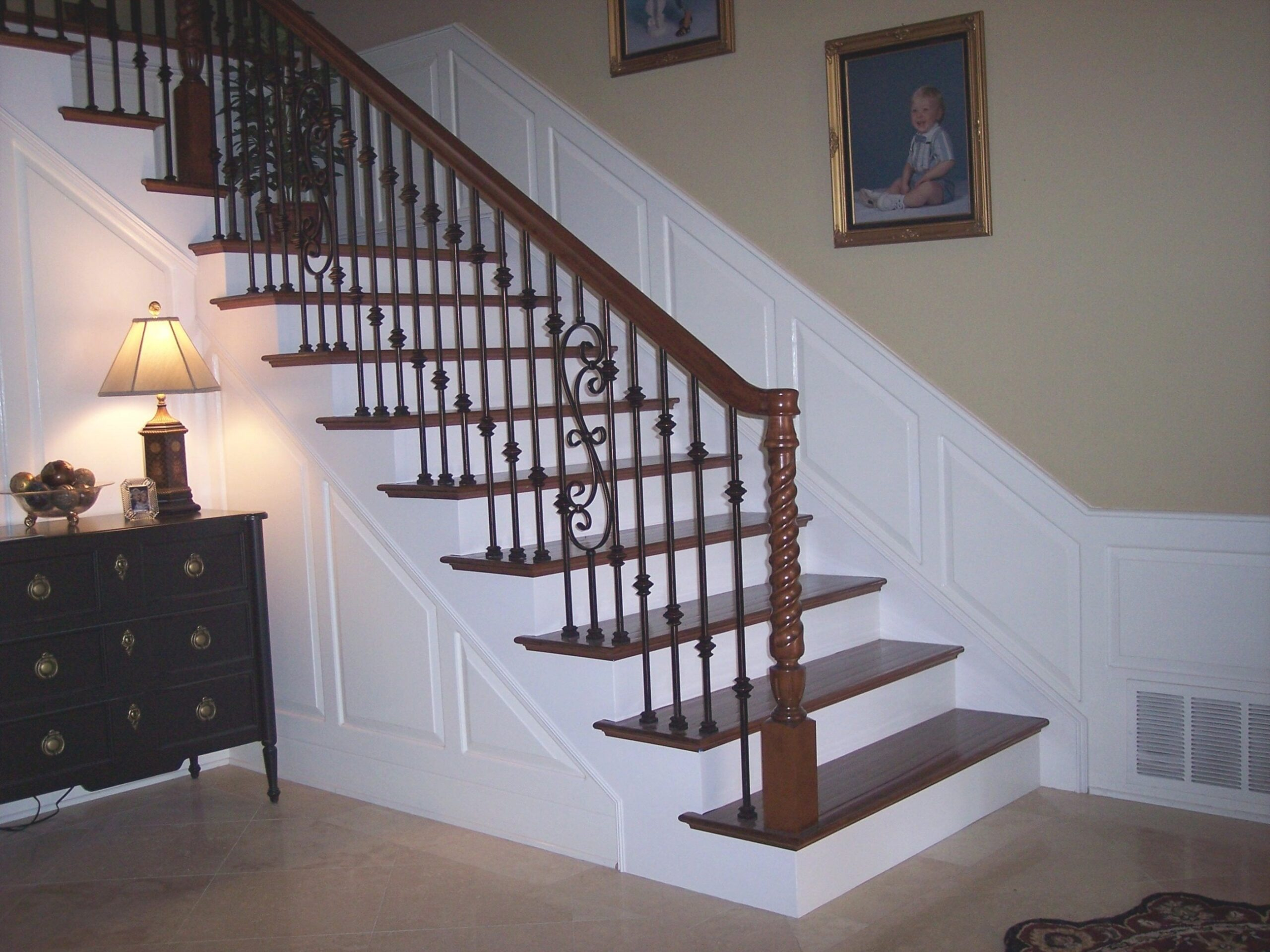 Decor: Winsome Contemporary Stair Railing With Brilliant for Stair Ideas For Home