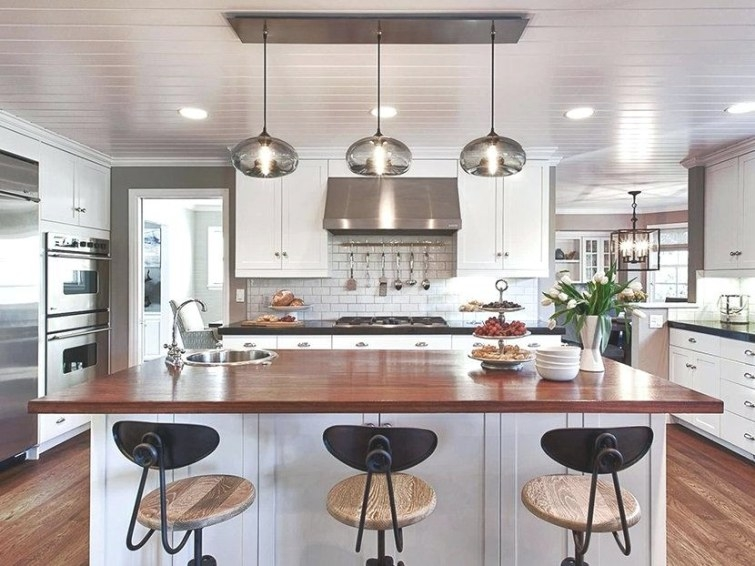 Design Frenzy (And 10 Things On My Design Features Wish intended for Kitchen Island Pendant Lighting