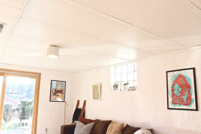 Diy Drop Ceiling Replacement - The Home Depot Blog pertaining to Drop Ceilings In Homes