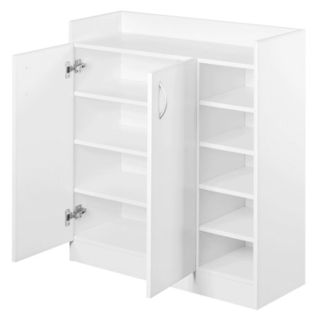 Dwellhome 2 Doors Shoe Cabinet Storage Cupboard & Reviews within Shoe Cabinet With Doors