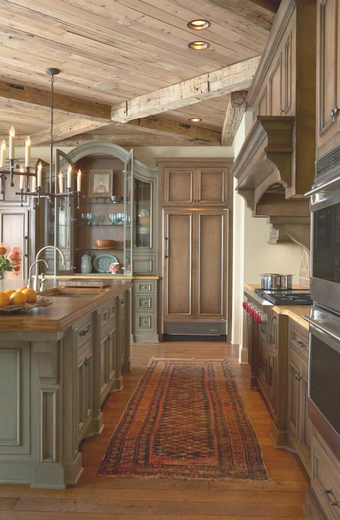 Elegant-Rustic-Kitchen (800×1225) | Rustic Kitchen pertaining to Rustic Kitchen Ideas For Small Kitchens